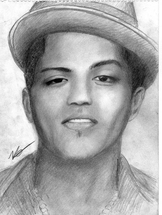 Bruno Mars by hamoda